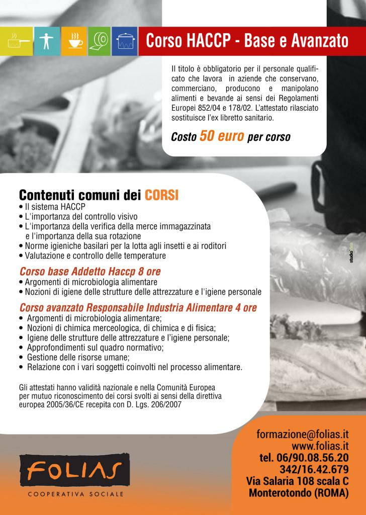 Locandina HACCP